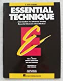 Essential Technique E Flat Alto Clarinet, Rhodes and Biers, 0793518040