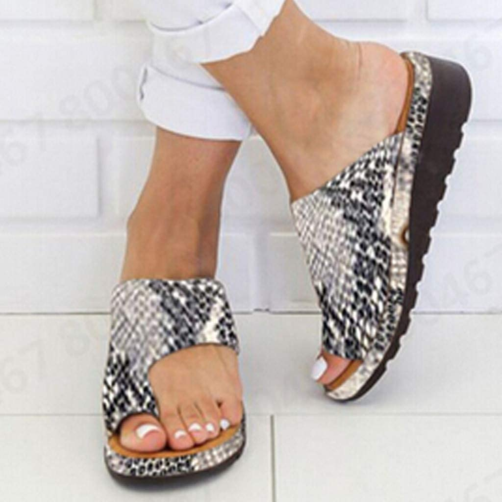 Women Ladies Wedge Espadrilles Summer Beach Comfy Flatform Sandal Slippers Shoes