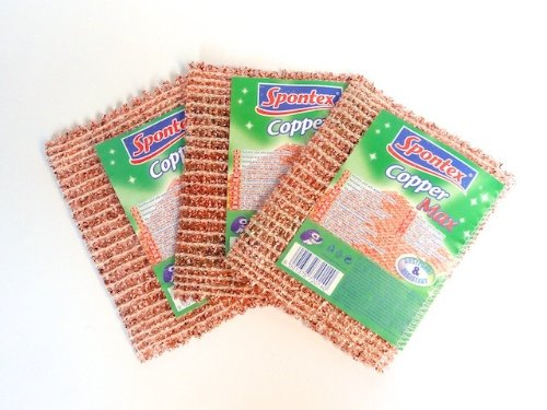 'SPONTEX' 3 x Copper Max copper cloth andere Hersteller