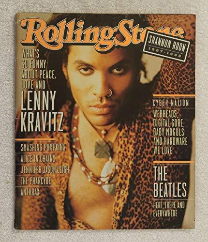 (Lenny Kravitz - Rolling Stone Magazine - #722 - November 30, 1995 - Death of Shannon Hoon (Blind Melon))