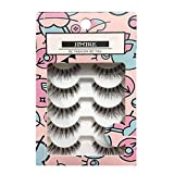 JIMIRE False Eyelashes Natural Multipack Fake Lashes