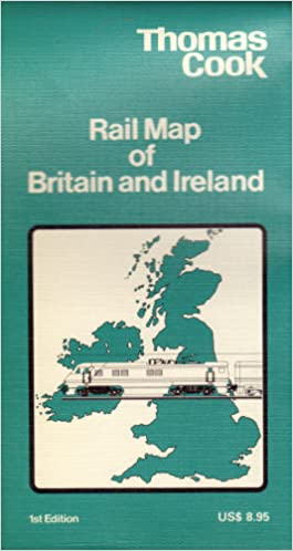 Thomas Cook Rail Map Of Britain And Ireland Thomas Cook Ltd - Thomas cook us maps