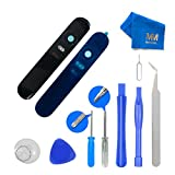 MMOBIELBack Rear Camera Real Glass Lens Cover CapReplacement Flash DiffuserComplete Set + Pre-installed Adhesive + FullToolkit incl. Tweezers for Huawei Google Nexus 6P H1511 H1512 All Cariers