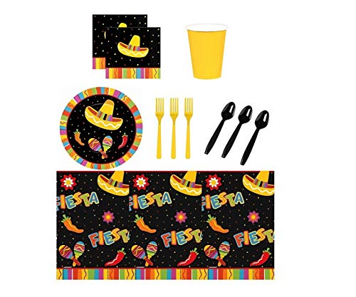 Fiesta Fun Mexican Party Kit for 16 -