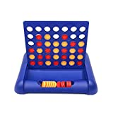 Amglobal Classic Family Connect 4 Game in a Row,Connect Four of Your Color To WIn,Board Game for Kids and Family