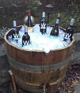 French Oak Wine Barrel Cooler