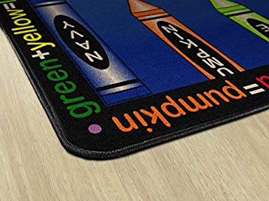 Amazoncom Flagship Carpets Fe115 44a Allmixedup Indigo