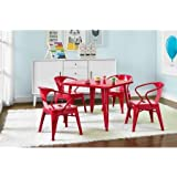 Better Homes and Gardens Kids' Metal Table, Red