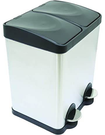 Price£39.99. Charles Bentley Home 30L Stainless Steel Kitchen Recycle Waste  Pedal Bin 2 Compartments · Price£2.42