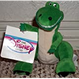 """Retired Out of Production Toy Story Woody's Best Friend and Sidekick 8"""" Plush Bean Bag Rex the Dinosaur Doll New with Tags"""