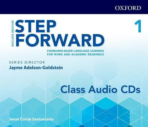 Step Forward 2E Level 1 Class Audio CD: Standards-based language learning for work and academic readiness pdf