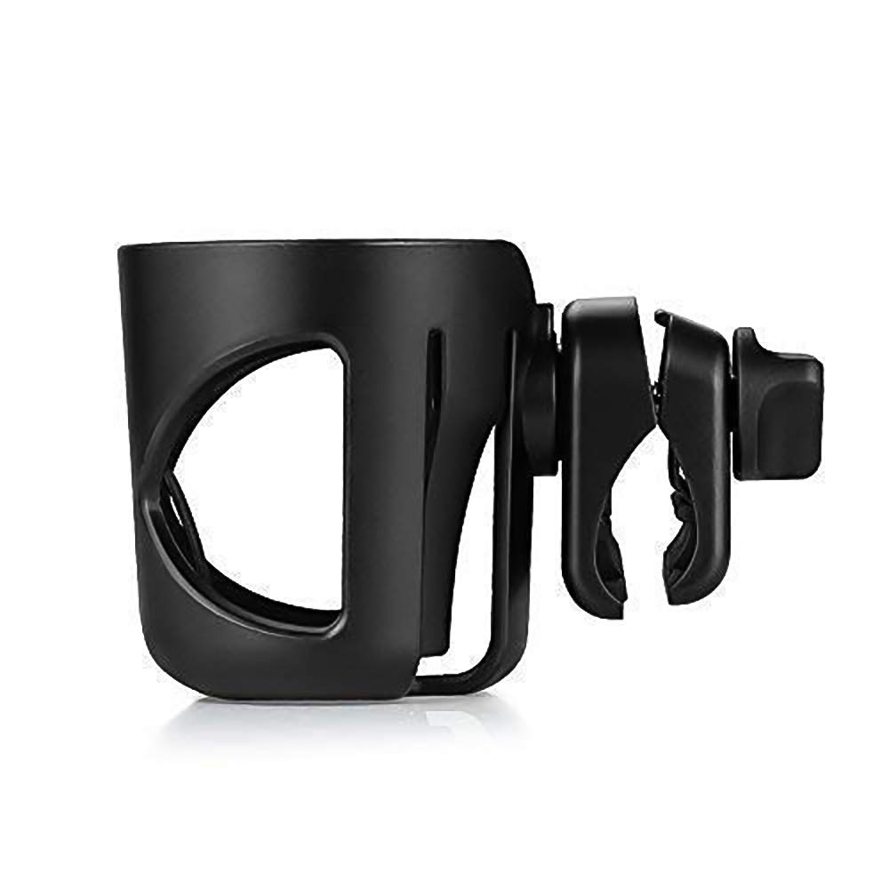 Large Caliber Designed Cup Holder Universal Rotation Cup Drink Holder Black