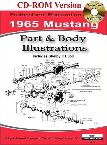 1965 Colorized Mustang Wiring Diagrams: David E. LeBlanc ... on