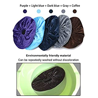 Non-Slip Washable Reusable Shoe Covers - Variety of Colors