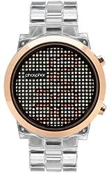Phosphor Women's MD010L Swarovski Mechanical Digital Watch