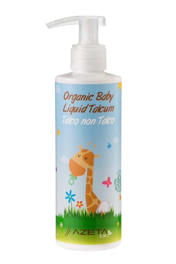 Organic Baby Liquid Talcum - AZETAbio - 200 ml ZAVA.GLI AB050