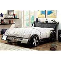 HOMES: Inside + Out IDF-7946F Spento Racecar Bed Childrens Frames, Full