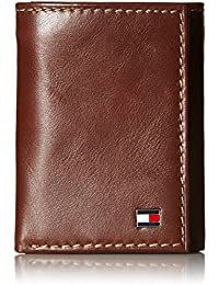 e8d93c7bd9b Men s Trifold Wallet-Sleek and Slim Includes ID Window and Credit Card  Holder