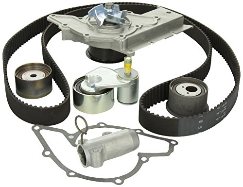 Gates TCKWP330 Timing Belt Component Kit with Water (Audi A6 Water Pump)