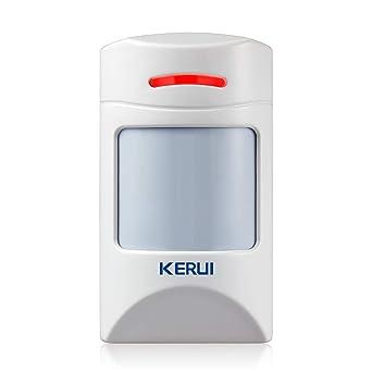 KERUI Detector de Sensor de Movimiento PIR Inmune para Mascotas de 12 kg para el Sistema de Alarma Antirrobos de Seguridad para el Hogar KERUI - ...