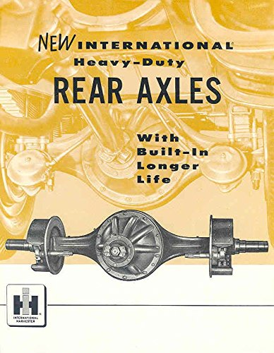 1958 International Trucks (1958 International Truck Heavy Duty Rear Axle Brochure)