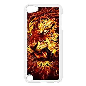 Clzpg Drop-ship Ipod Touch 5 Case - Fire plastic case