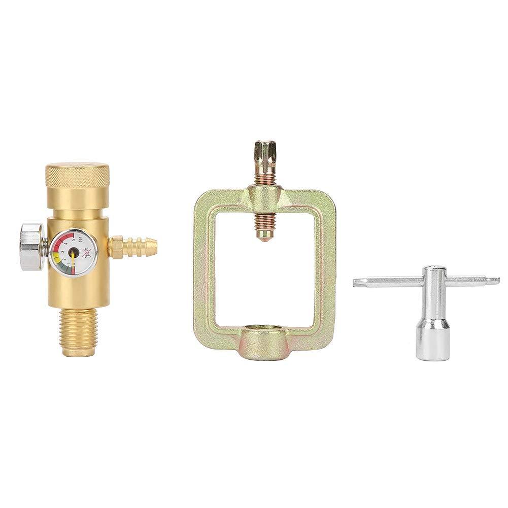 Acetylene Pressure Gauge - 0.01-0.15MPa Acetylene Gas Pressure Reducer Air Flow Regulator Gauge Meter by MLMLH (Image #2)