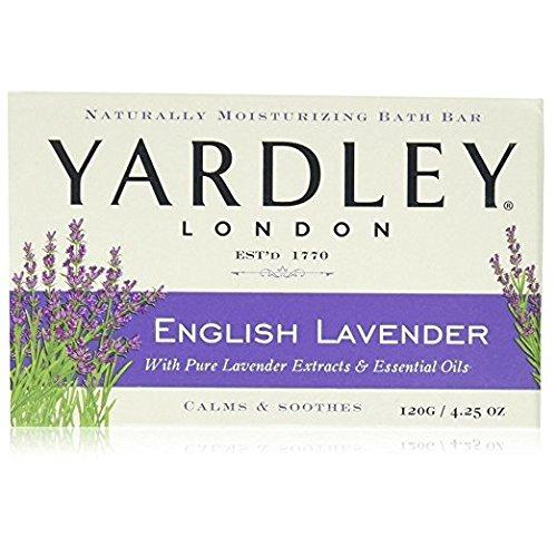 (Yardley London Moisturizing Bar English Lavender with Essential Oils 4.25 oz (Pack of 3))