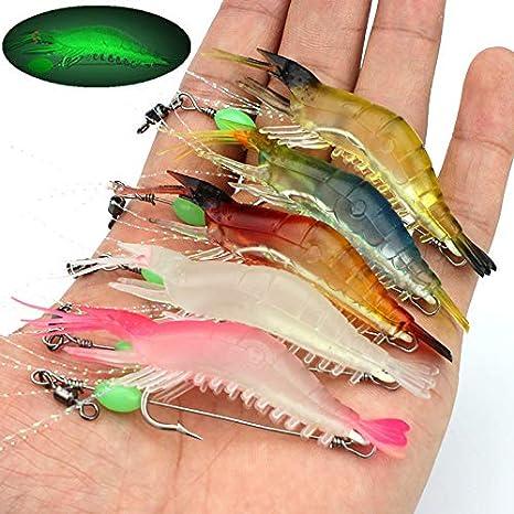 Details about  /5pcs Deep Sea Fishing Lure Night Luminous Metal Jig Spoon Baits 80 100 120 150 G