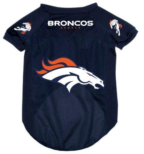 Denver Broncos Pet Dog Football Jersey Alternate LARGE