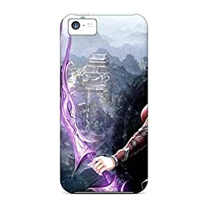 Fashionable ZXtATgK2951ALQIf Iphone 5c Case Cover For Beautiful Archer Girl Protective Case