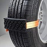 Auto Car 2 X Tire Anti-Skid Block Vehicle Emergency Snow Chain