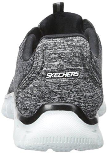 Skechers Dames Sport Imperium - Rock Around Relaxte Fit Fashion Sneaker Zwart / Wit