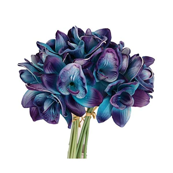 Lily-Garden-Artificial-Flowers-Real-Touch-Orchid-Set-of-10