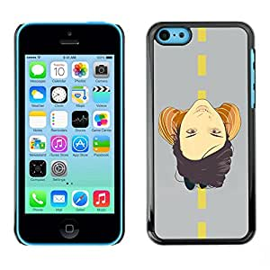 "For Apple iPhone 5C , S-type Cara En El Camino"" - Arte & diseño plástico duro Fundas Cover Cubre Hard Case Cover"