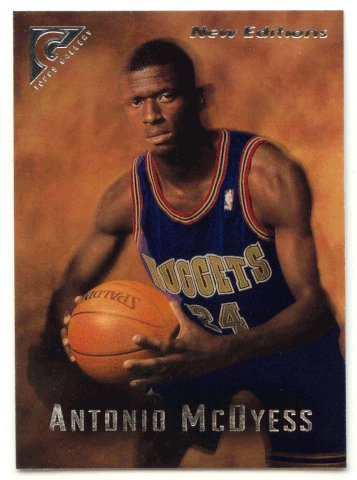 Antonio McDyess RC (Basketball Card) 1995-96 Topps Gallery # 48