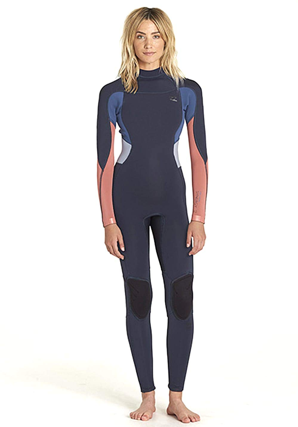 Billabong Synergy Ladies 3/2mm Back Zip Wetsuit Colored