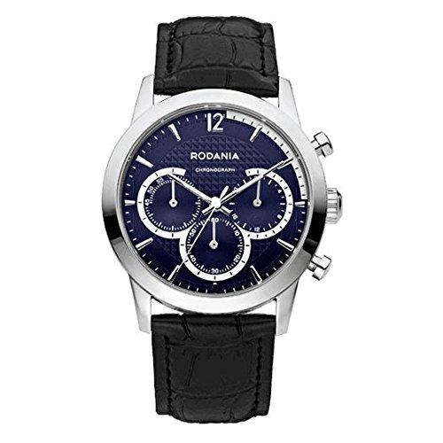 RODANIA Energy Turbo Reloj DE Hombre Cuarzo Correa DE Cuero DIAL Azul 26166.29: Amazon.es: Relojes