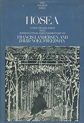 Hosea: A new translation (Anchor Bible, Vol. 24)