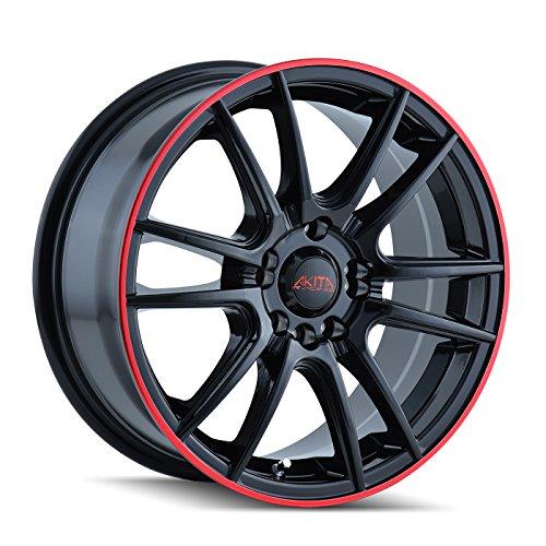 Akita AK77 477 Wheel with Black Finish (18x7.5