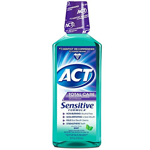 Act Green - Act Sensitive Care Mint 1 Size, 18 Fl. Oz (Pack of 2)