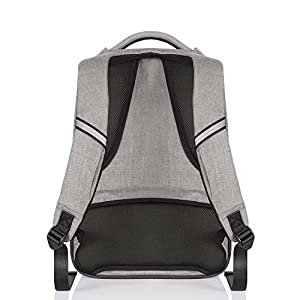 OSOCE CADeN Korean Japanese Style Backpack Urban Leisure Laptop Bag Fit up to14inch Tablet Computer-Gray