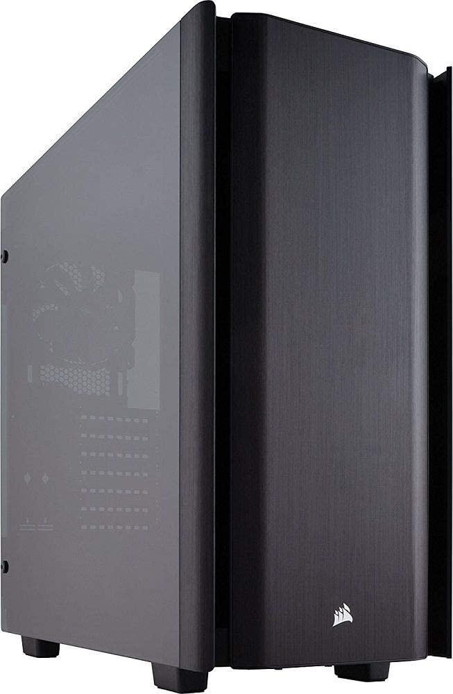 CORSAIR Obsidian 500D Mid-Tower Case, Smoked Tempered Glass, Aluminum Trim, Smoked with Aluminum Trim