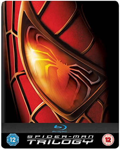 Spider-Man Trilogy (Spiderman) Steelbook Blu-ray