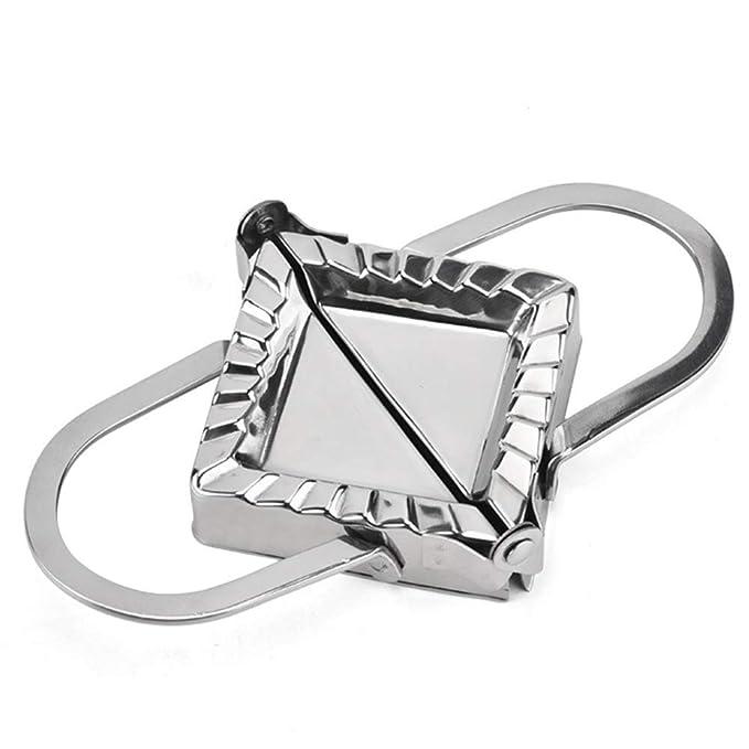 Amazon.com: Tophappy - Molde cuadrado de acero inoxidable ...