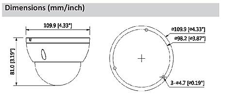 IPC-HDBW2300R-Z 3 Megapixel zoom 2 8-12mm IP Security Camera Dome