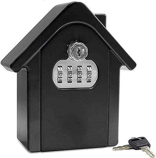 Caja de cerradura con llave Caja de llave con contraseña antirrobo ...