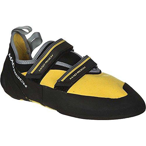 Mad Rock Mens Flash 2.0 Climbing Shoe, Yellow, 7 D US