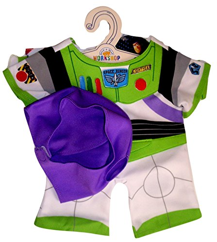 Build a Bear Buzz Lightyear Costume 2 pc. Teddy Size Toy Story Outfit -