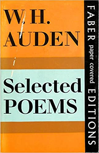 Selected Poems Amazoncouk W H Auden 9780571085217 Books